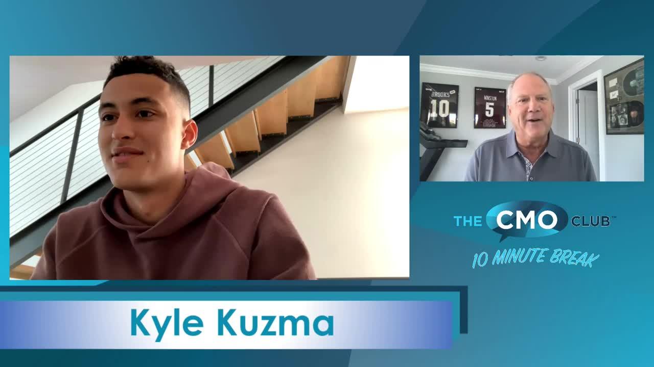 The CMO Club 10 Minute Break with Kyle Kuzma