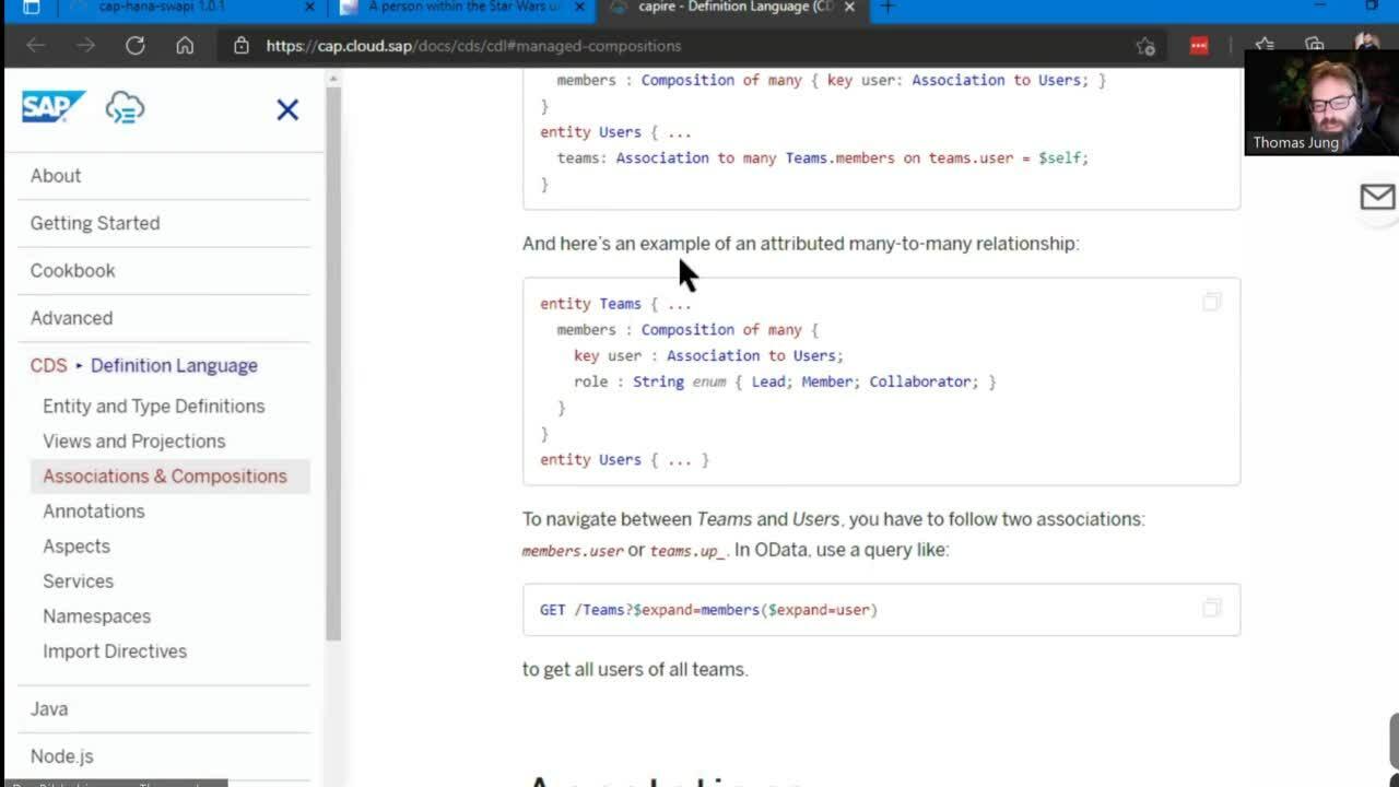 12. Star Wars API rewritten in CAP