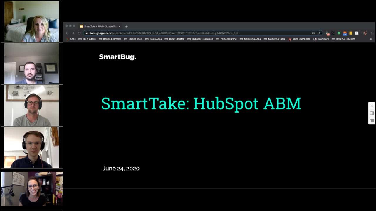 SmartTake HubSpot ABM Video