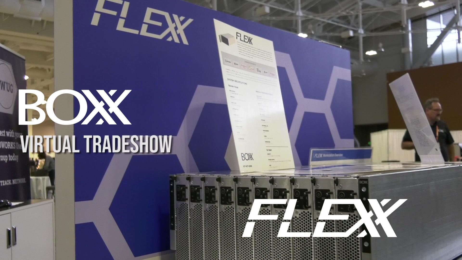 BOXX FLEXX Video - Virtual tradeshow FLEXX