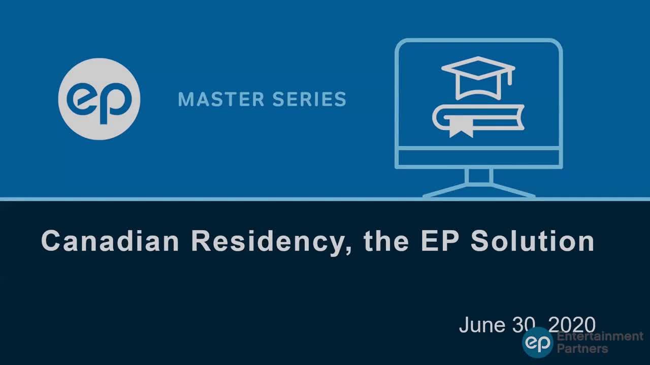 EP Residency webinar