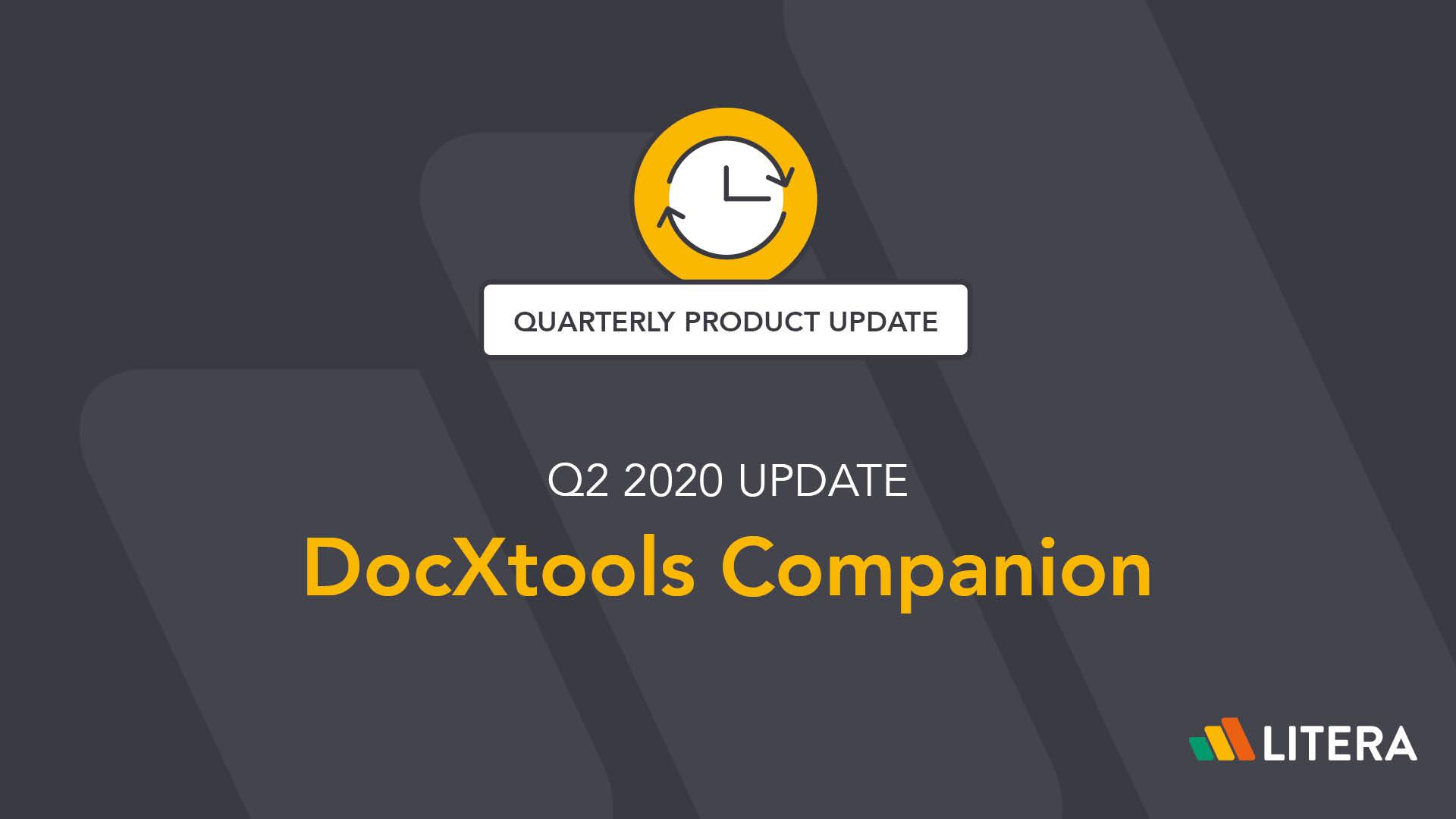 DocXtools Companion v11.7 by Litera