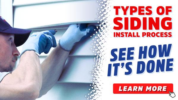 Types of Siding Install
