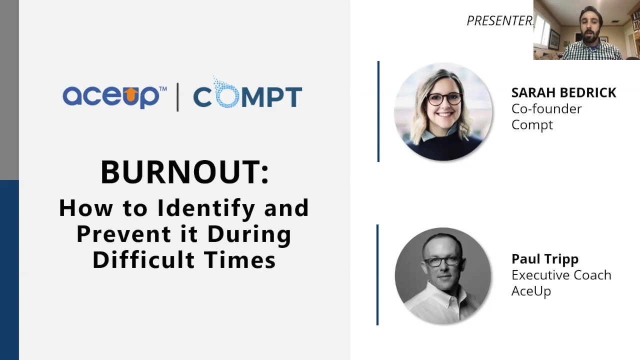 Burnout Webinar Recording