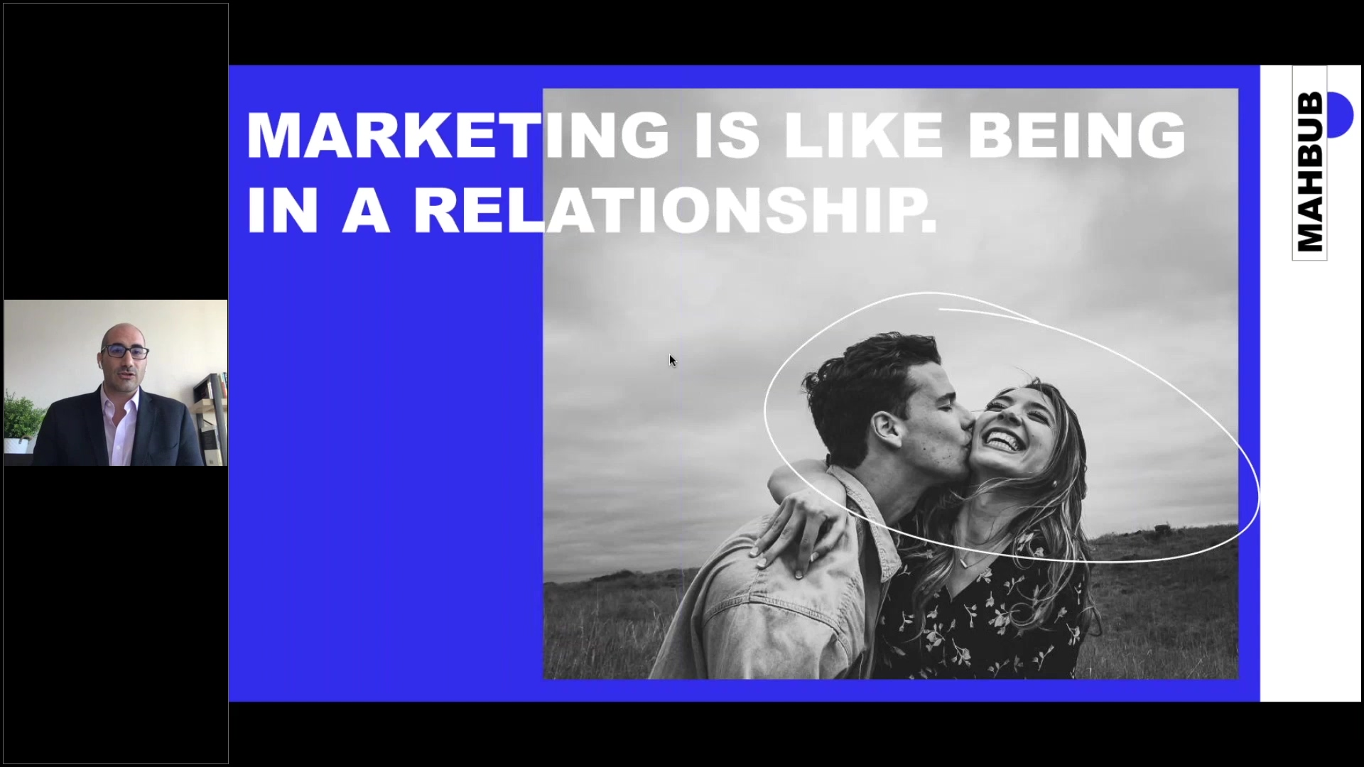 21 clip webinar Marketing es como una relación. Como desarrollar una estrategia de marketing durant