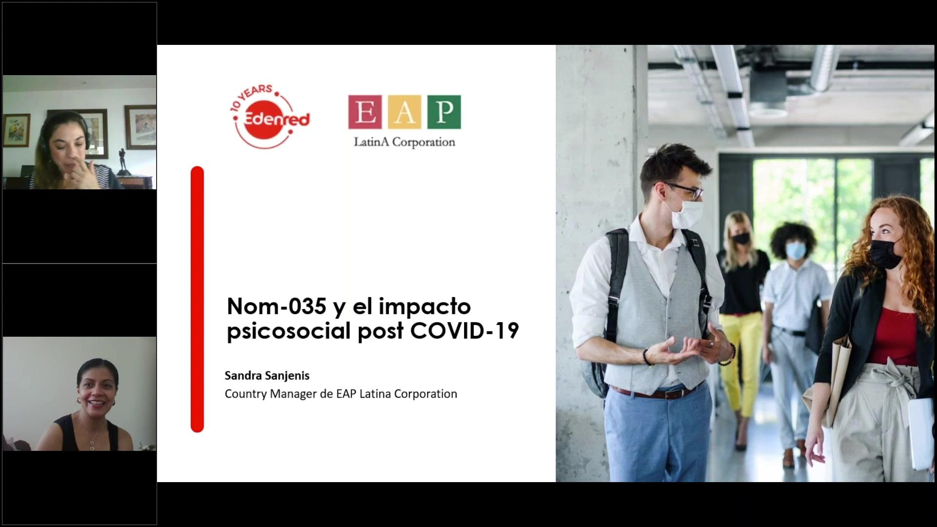 24 clip webinar NOM- 035 y el impacto psicosocial post COVID