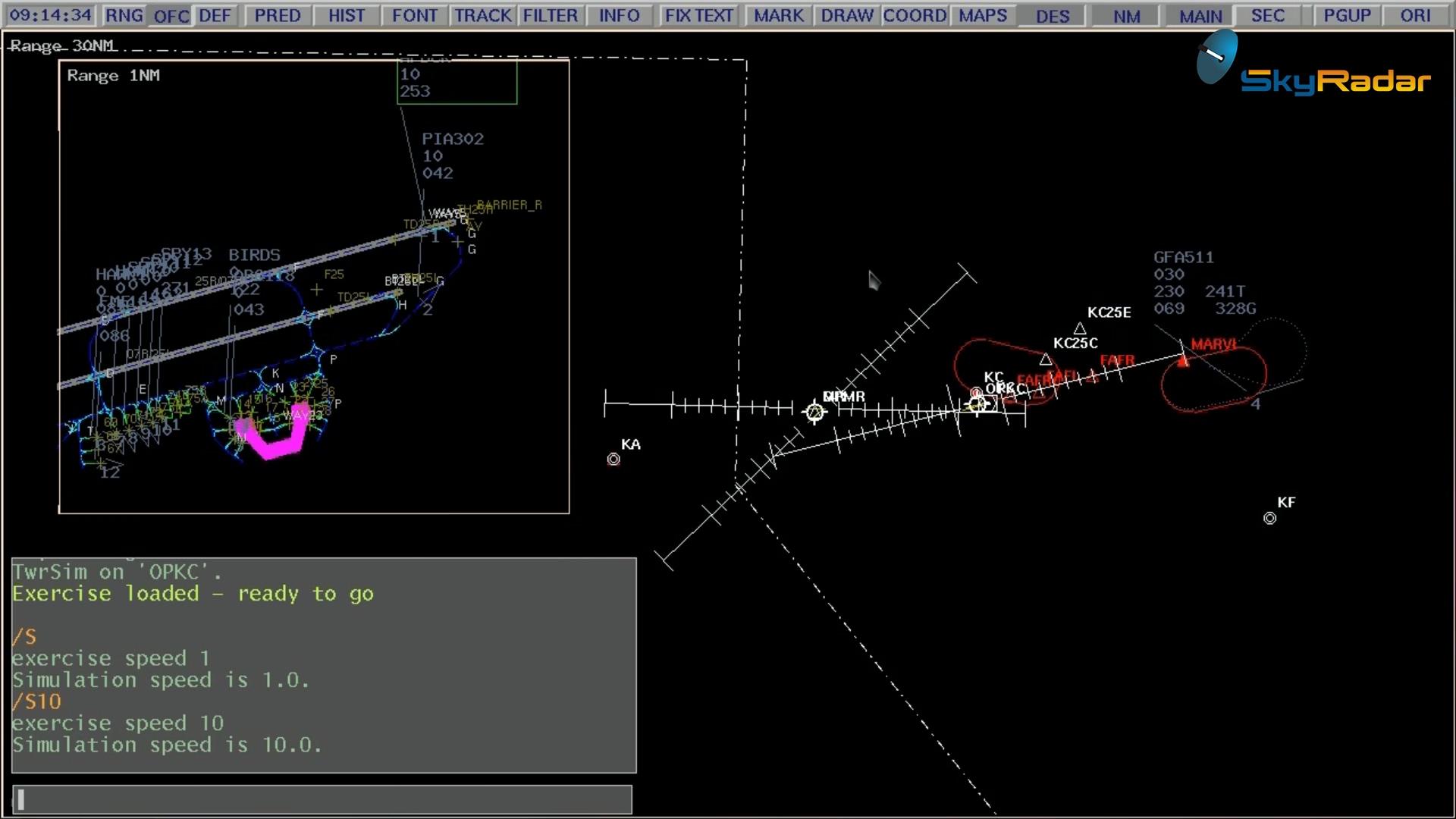 Integrated-ATC-Simulator