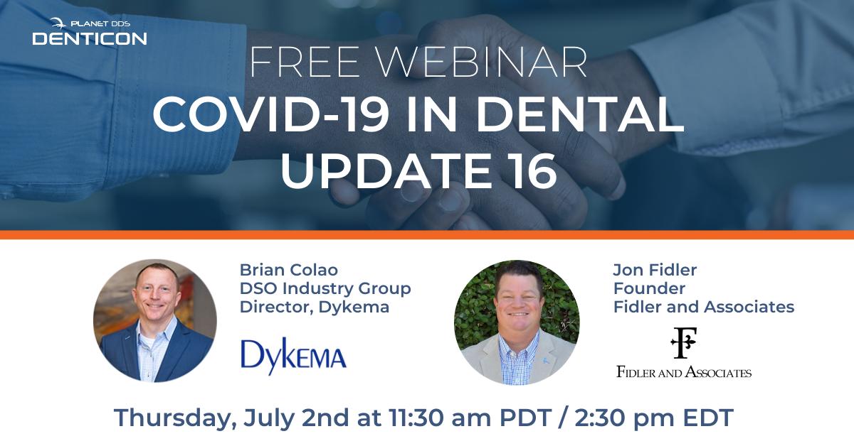 COVID-19 in Dental Update 16