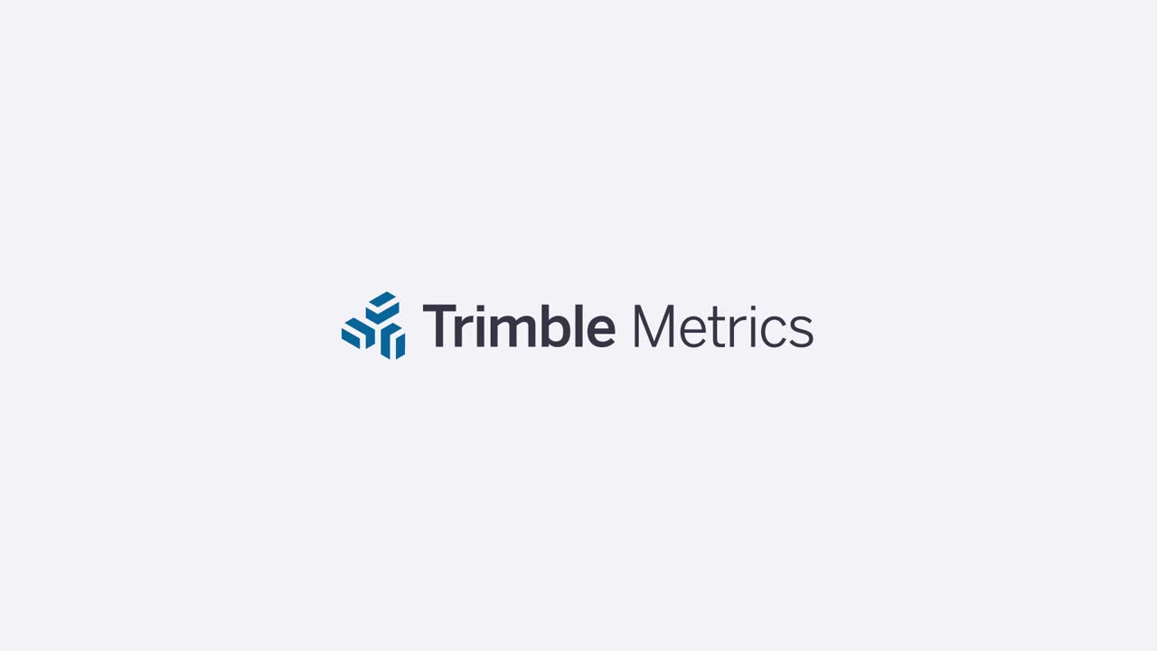 Trimble Metrics Demo Video