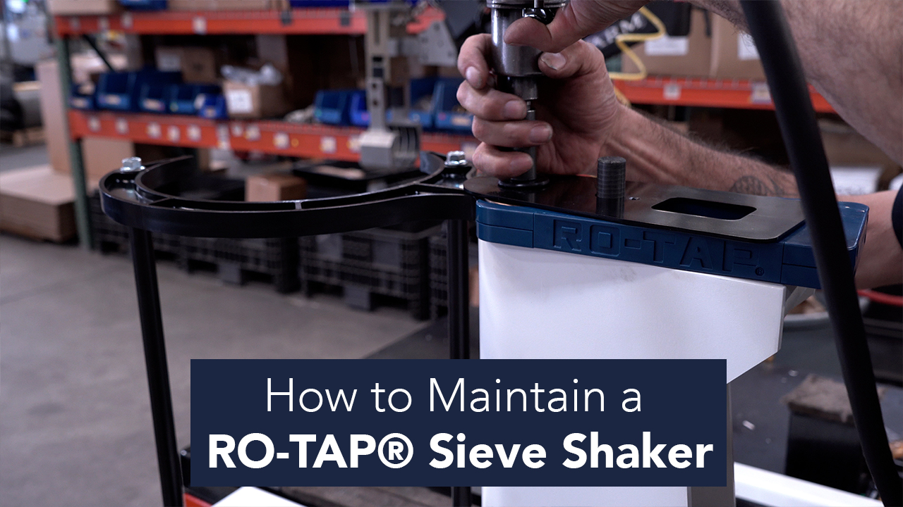 how-to-maintain-a-ro-tap-sieve-shaker