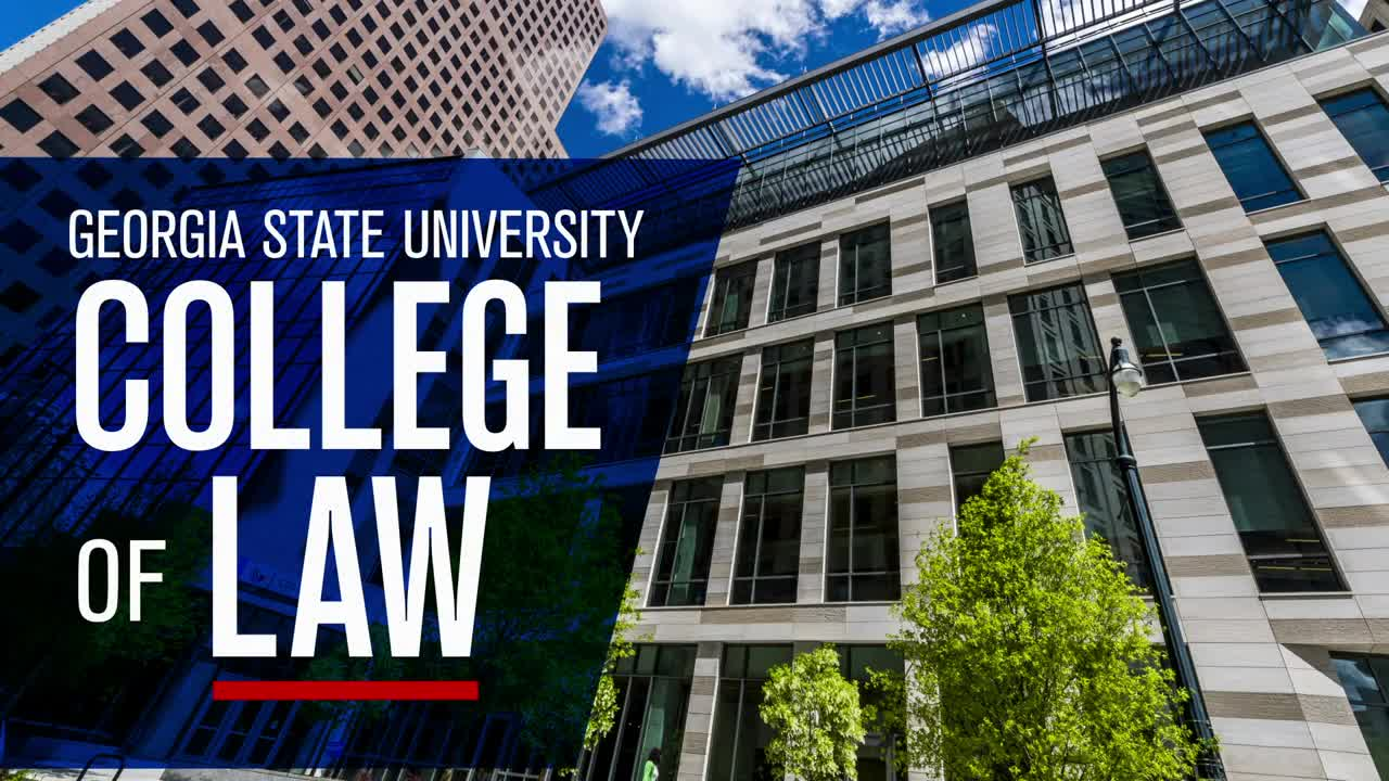Georgia State College of Law tour video