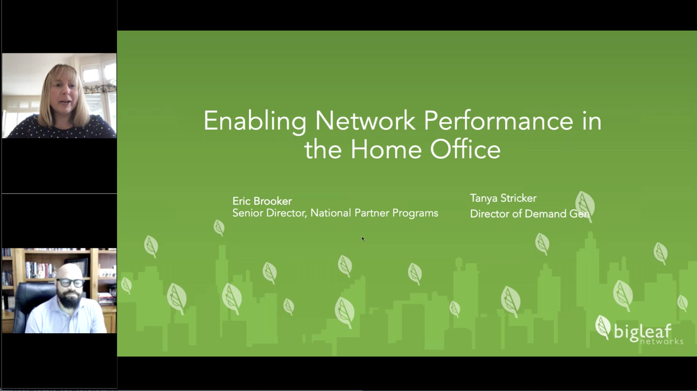 Enabling Network Performance in the Home Office