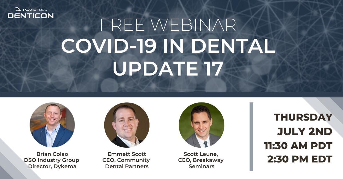 COVID-19 in Dental Update 17