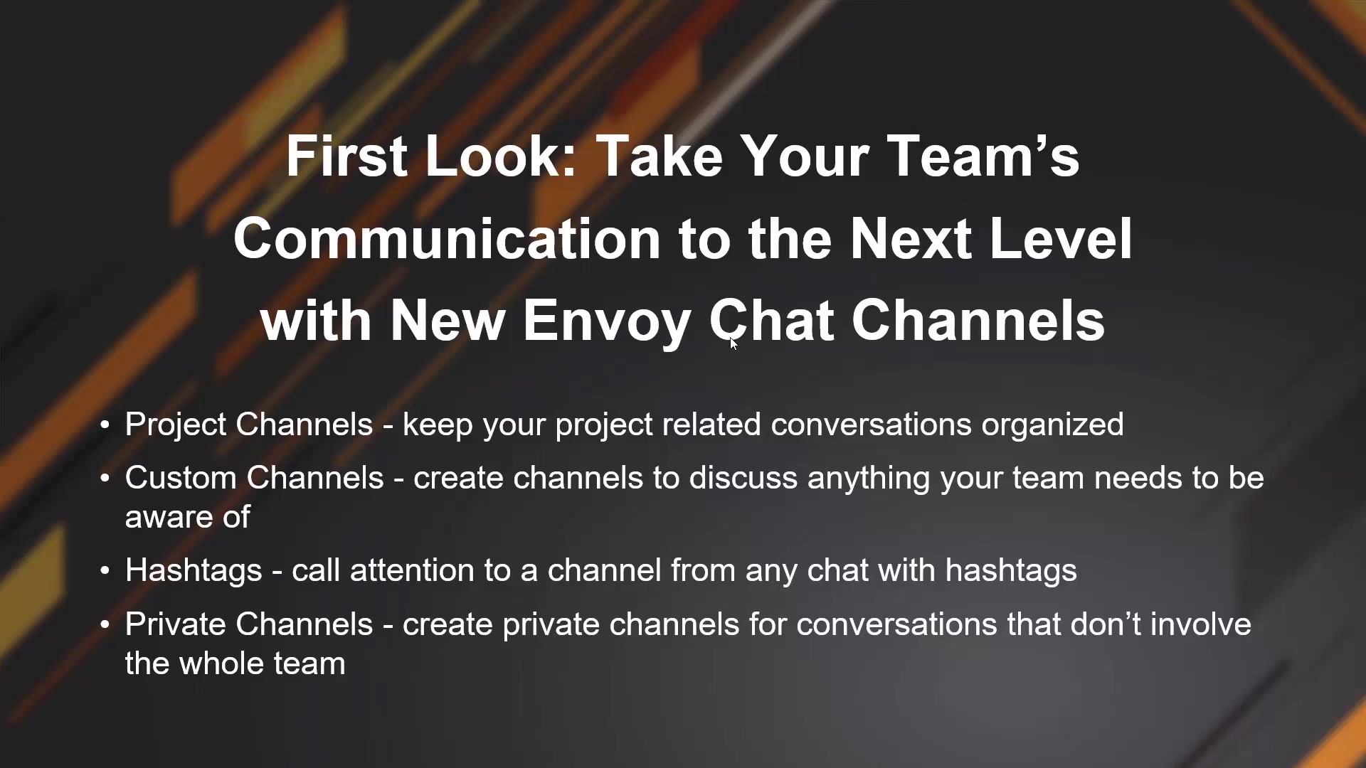 First Look - Take Your Team's Communication to the Next Level with New Envoy Chat Channels_2