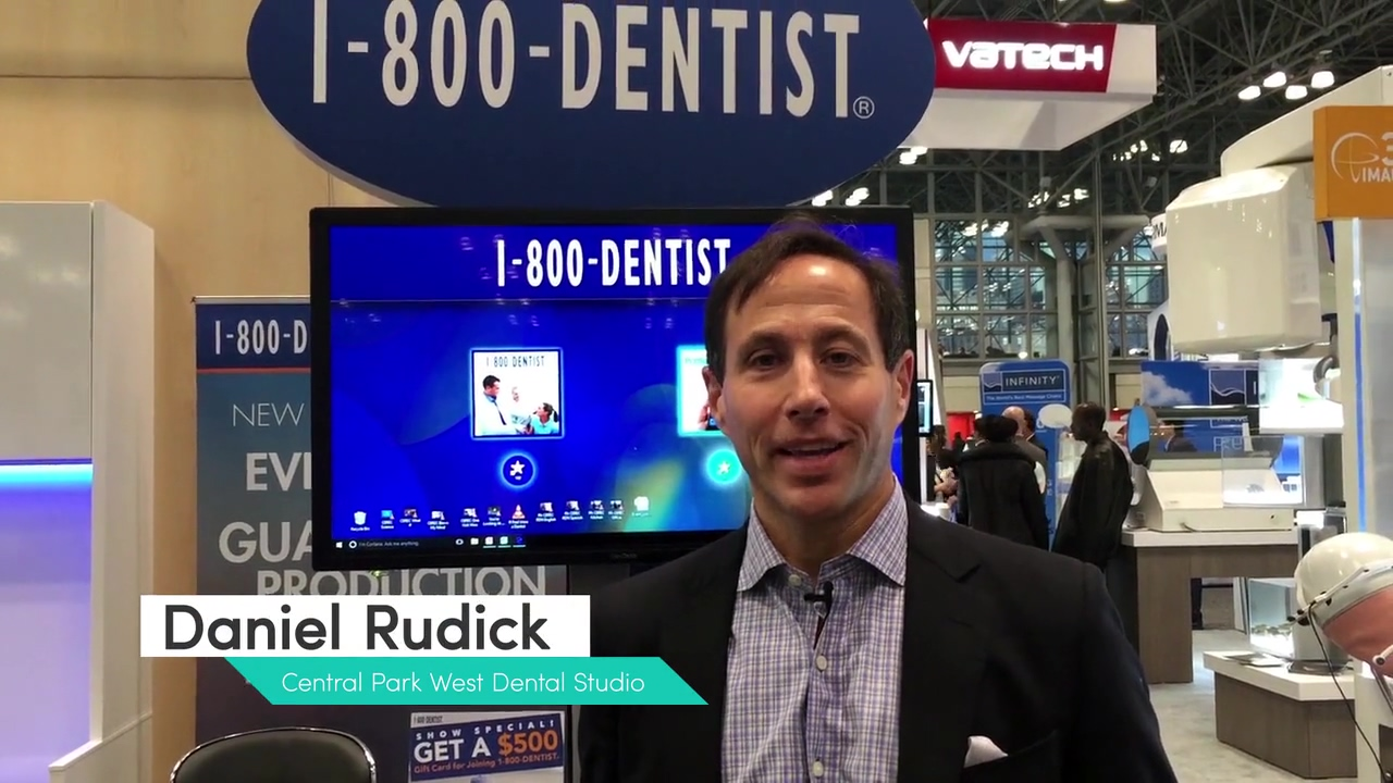 1-800-DENTIST® Testimonial Daniel Rudick - Central Park West Dental Studio