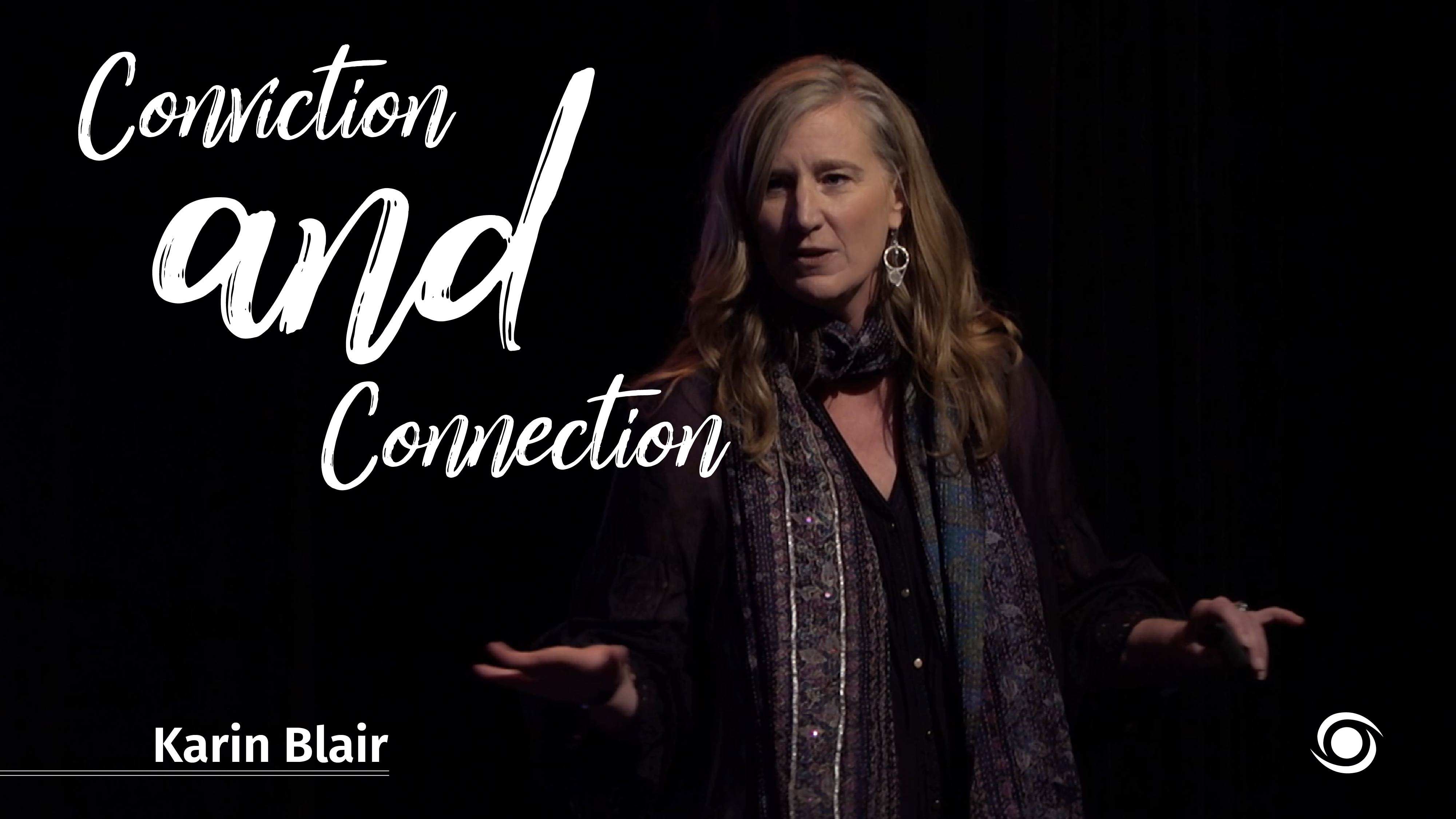 Karin-Blair-Conviction-And-Connection