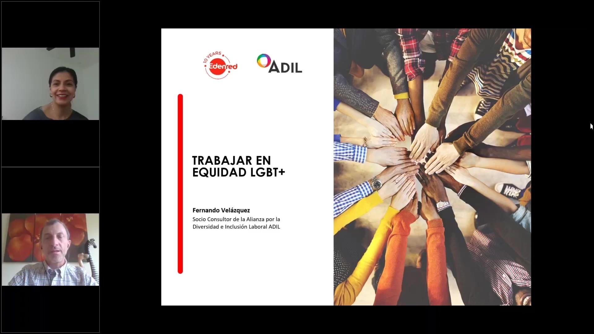 Clip webinar 25 Trabajar en Equidad LGBT+