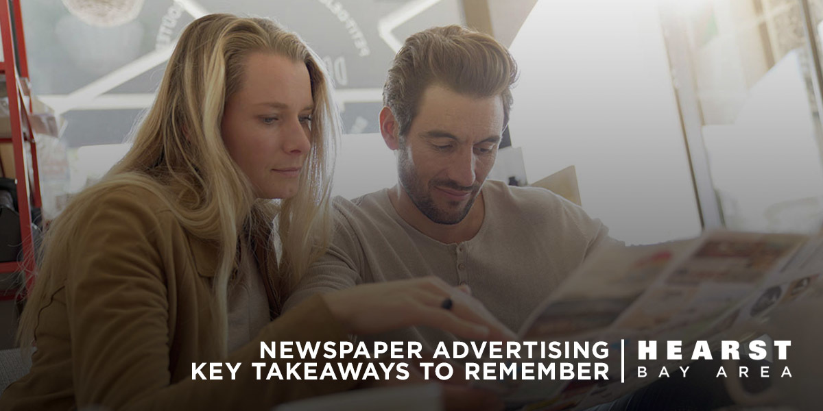 Newspaper Advertising Key Takeaways for Article