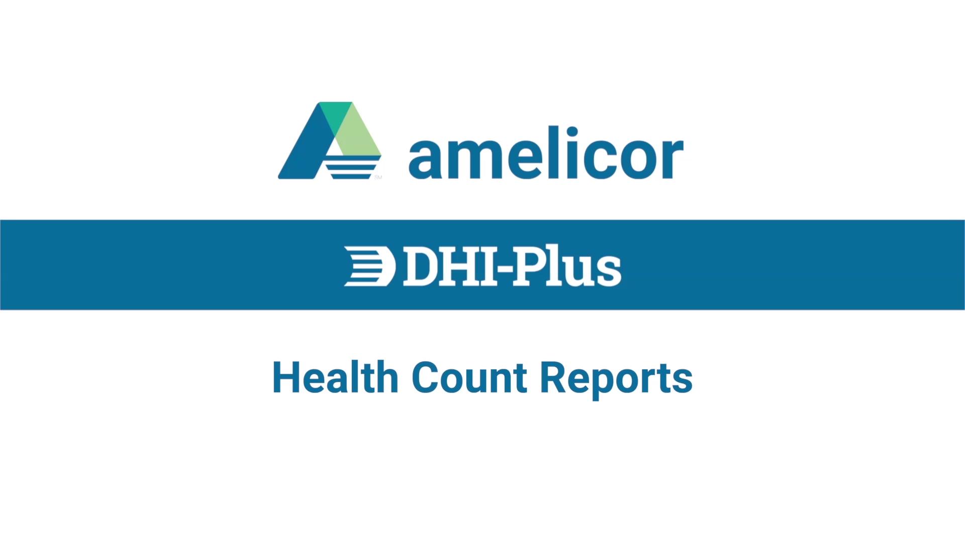 DHI-Plus Health Counts