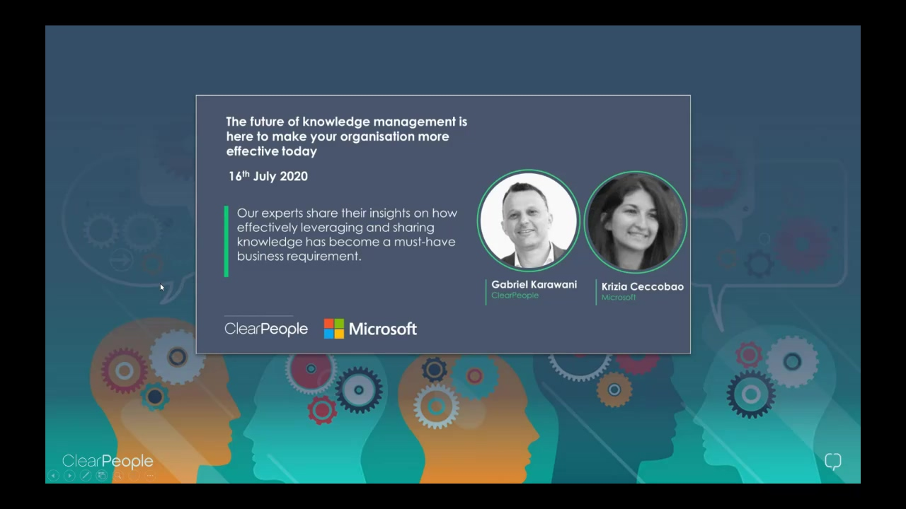 Webinar The Future of Knowledge Management is here 20200716