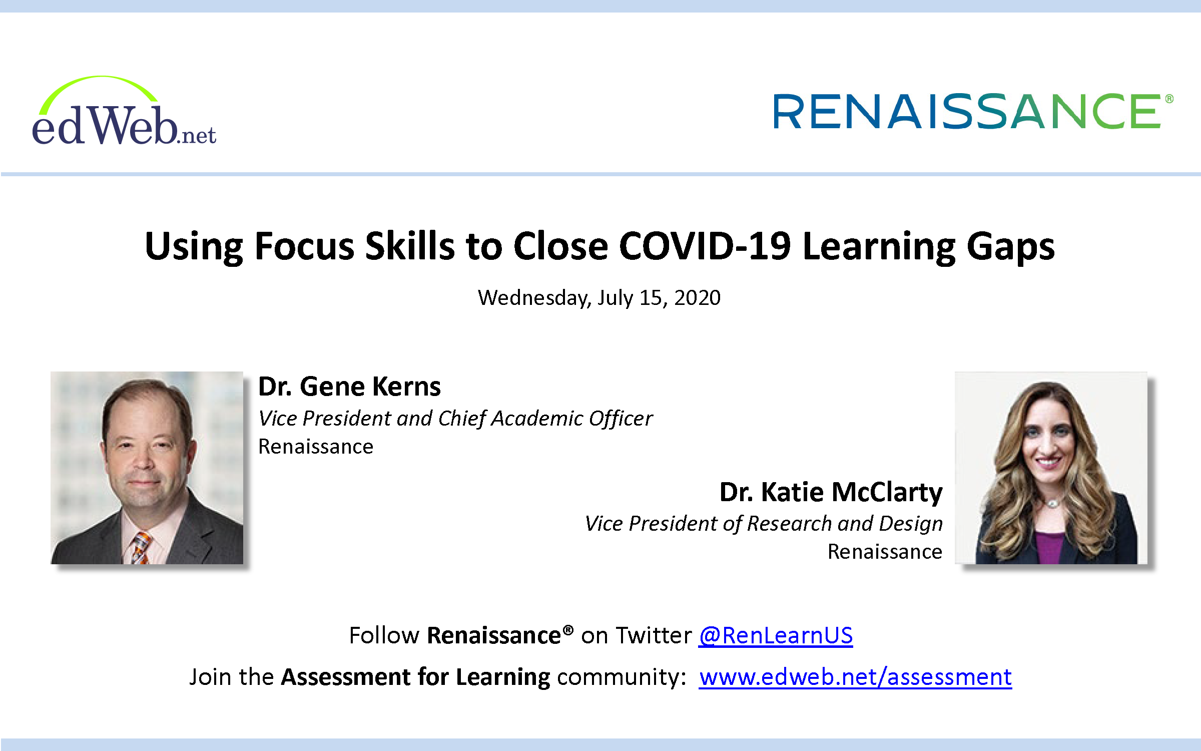 Using Focus Skills to Close COVID-19 Learning Gaps