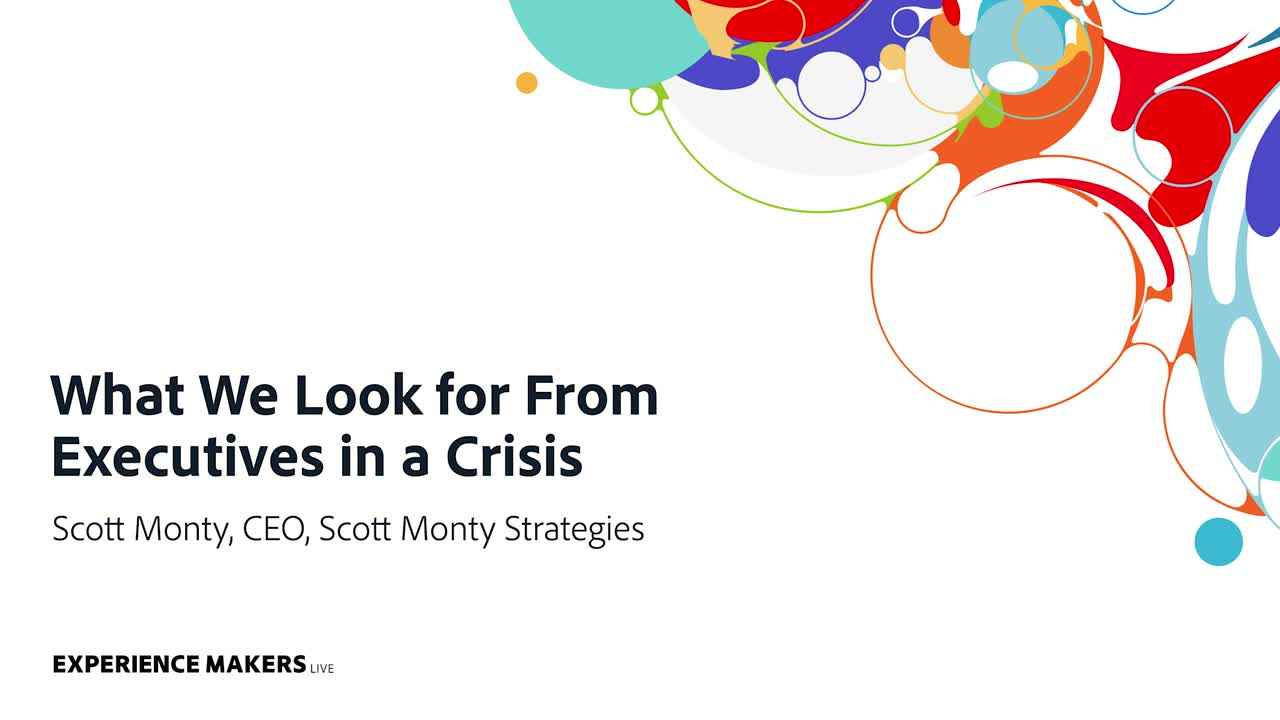 What We Look for From Executives in a Crisis