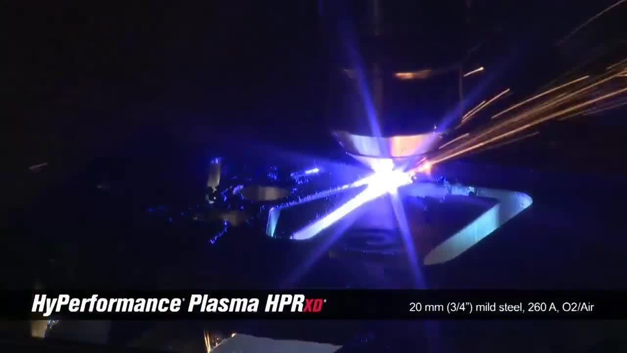 HPRXD 20mm (.75 in) mild steel