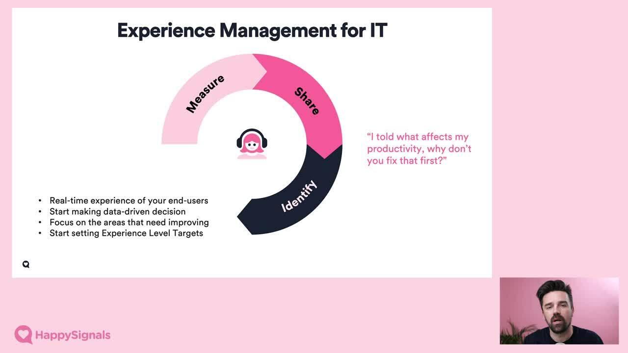 Webinar 1 - Experience Management