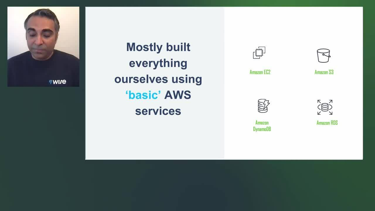 Wise - Partnering with AWS to accelerate Wise achieving its mission Title v1