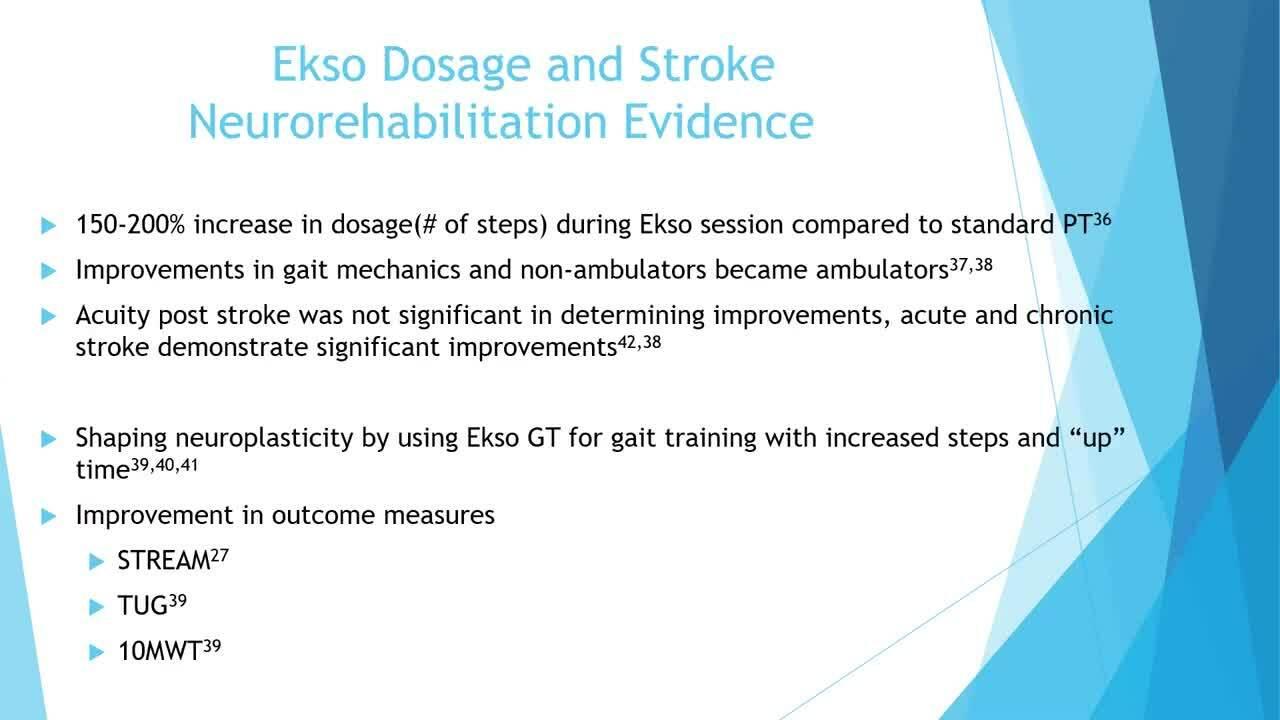 Elizabeth Koch - A Comparison of Exoskeletons in Clinical Practice