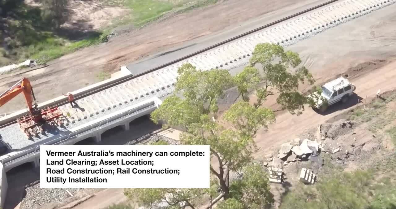 Vermeer Australia and the Inland Rail Project