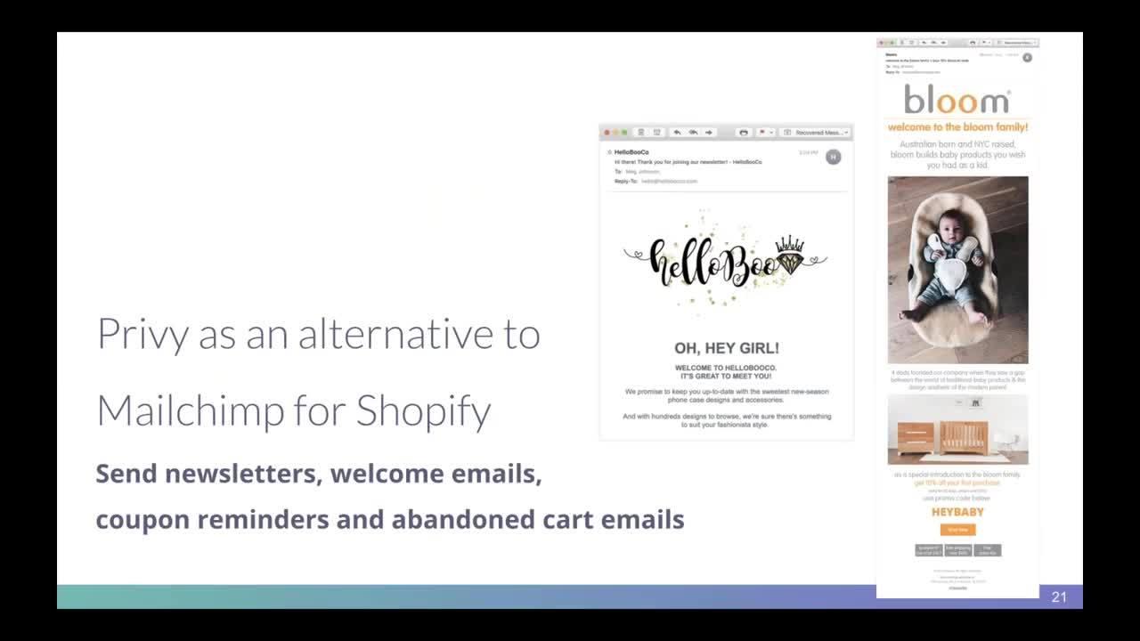 ShopifyMailchimp Breakup Webinar