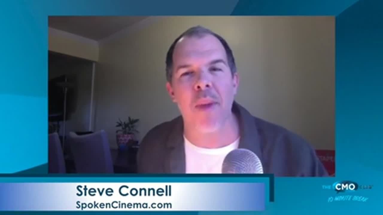CMO Club 10 Minute Break with Steve Connell