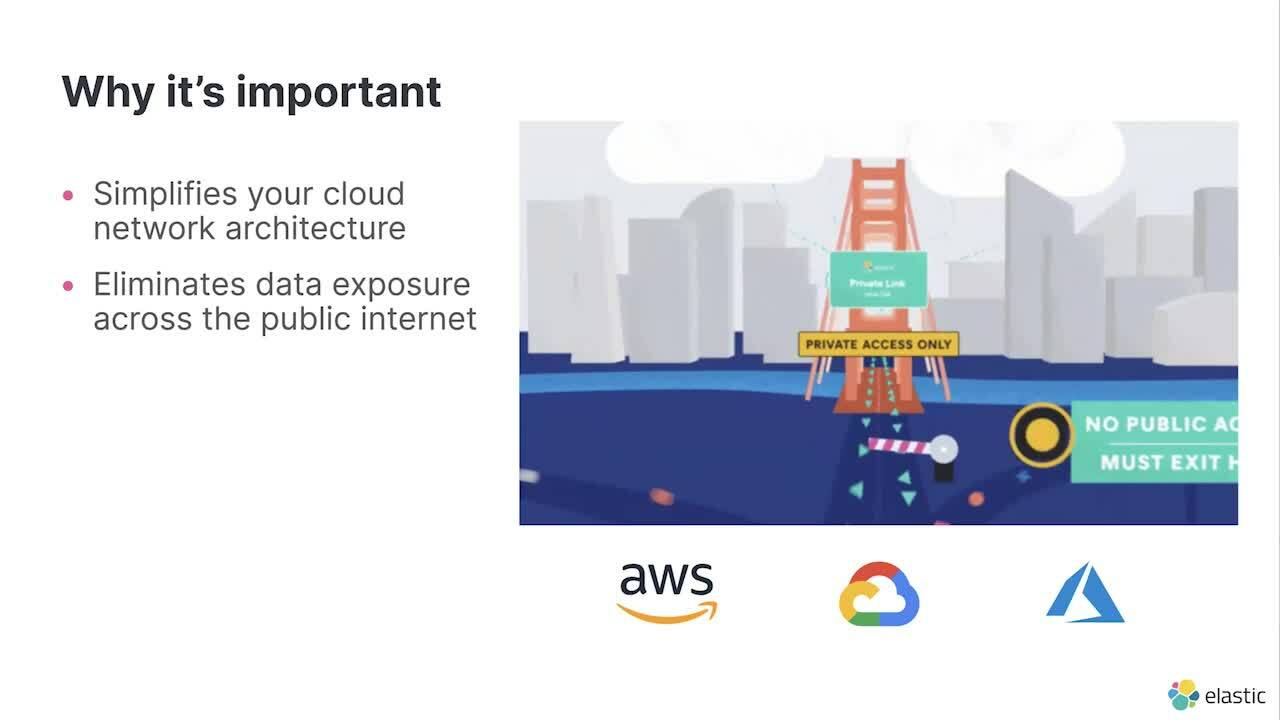 Video for Secure your deployments on Elastic Cloud with Private Link