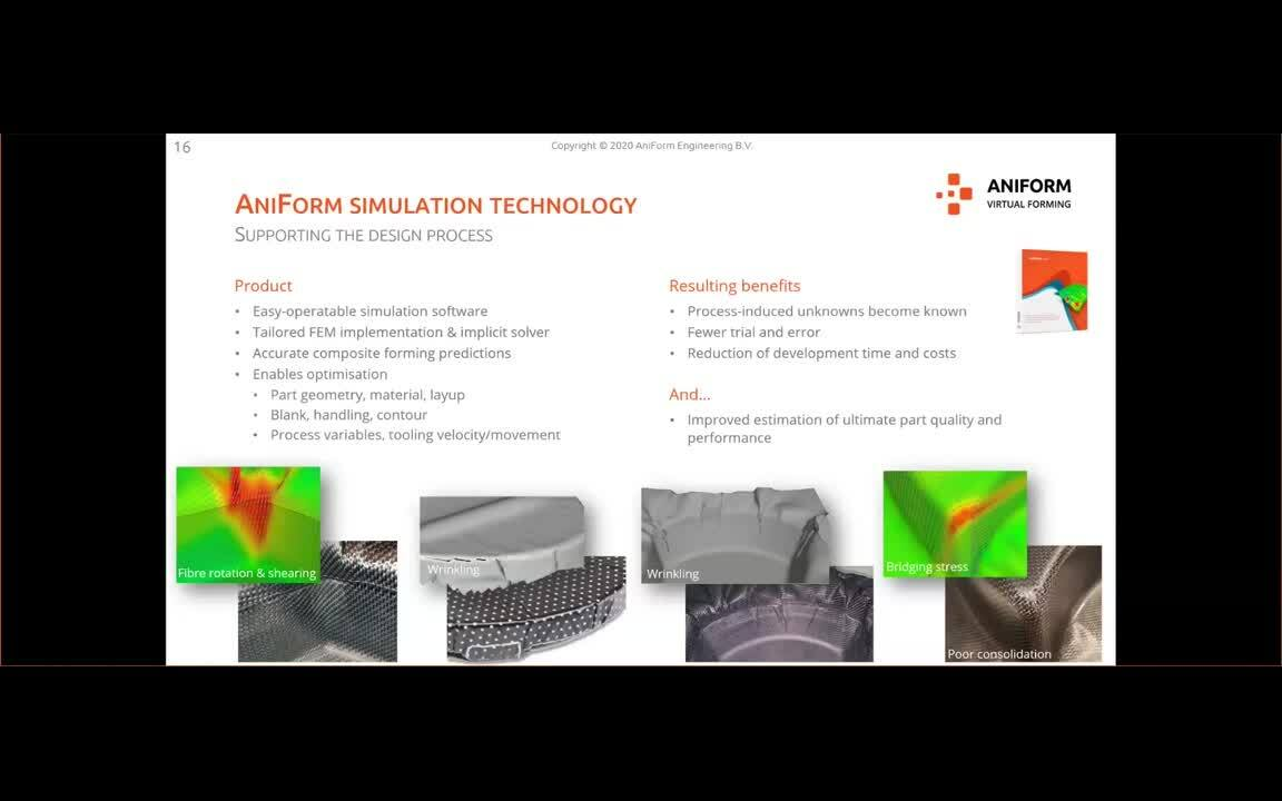 Ansys Composites Webinars