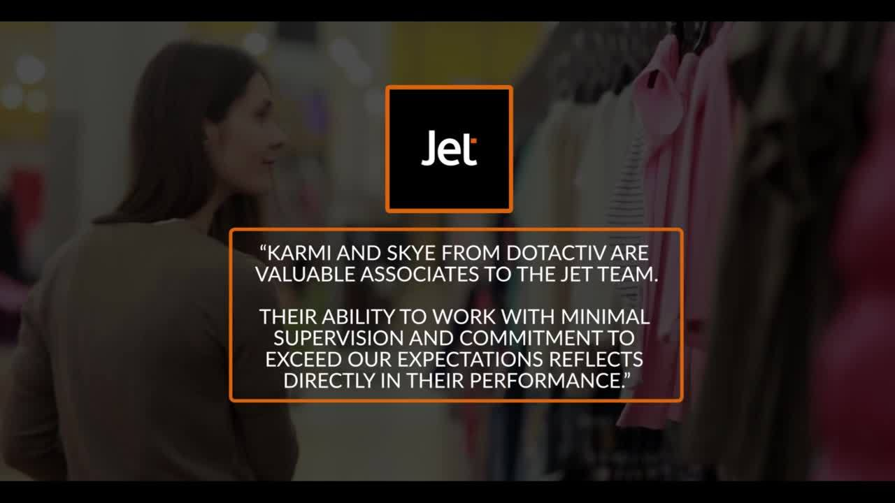 Jet Testimonial
