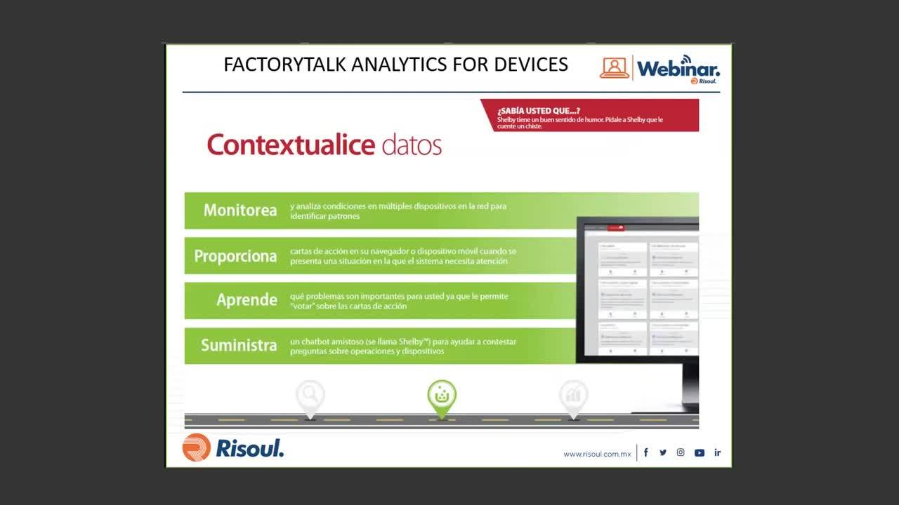 63 FactoryTalk Analytics for Devices