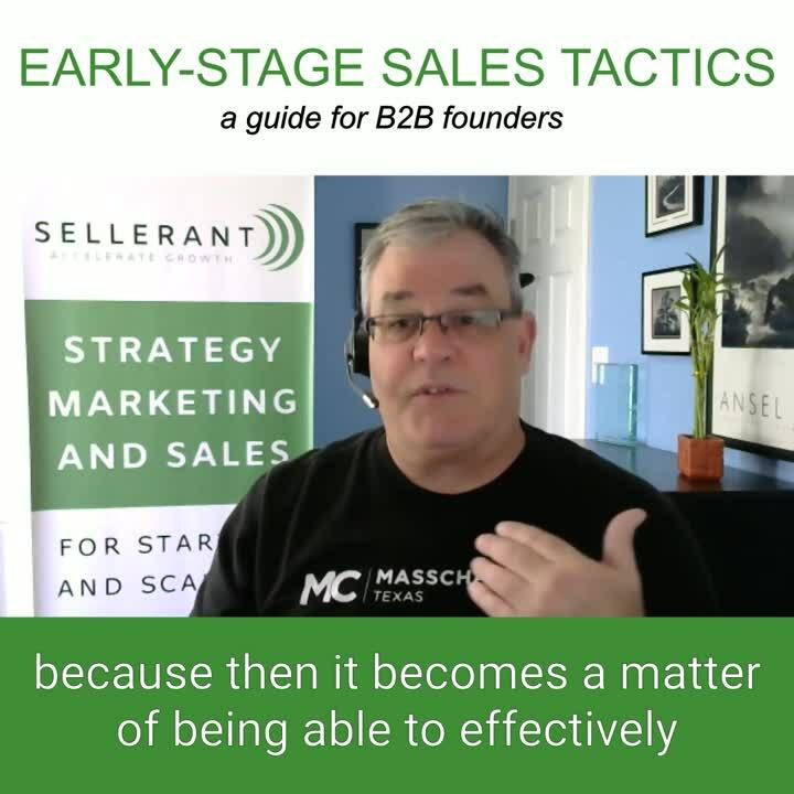 #1 8.6.2020 Executing Sales as a Founder