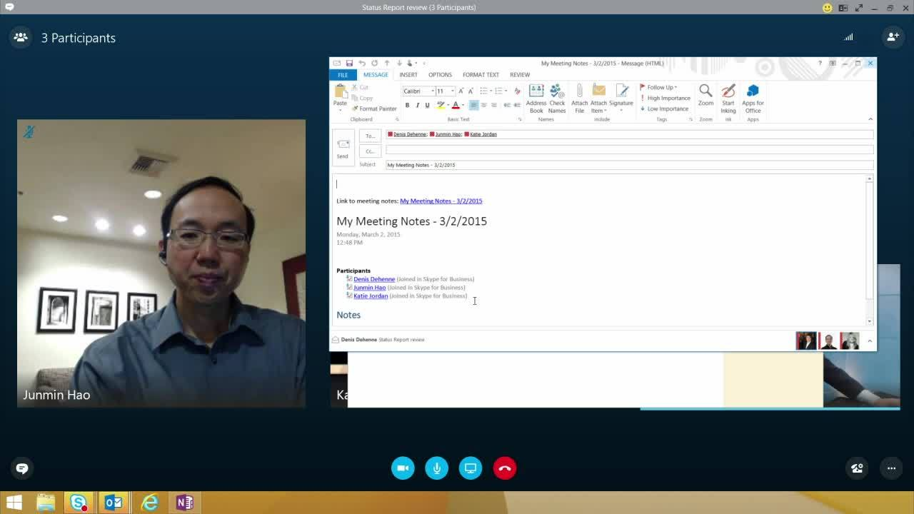 Skype for Business_Overview_Office Integration