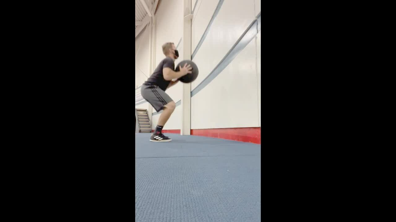 Vertical Jump Training Resisted