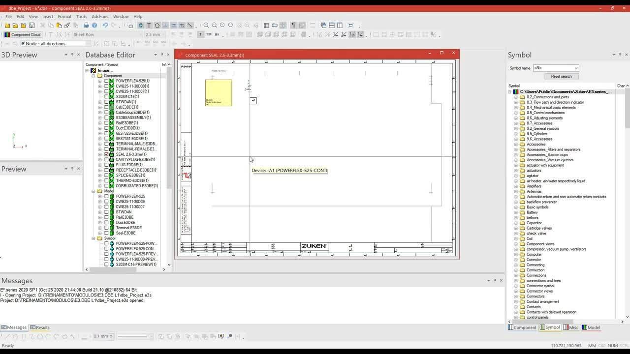 E3.dataBase Editor L1 - Content