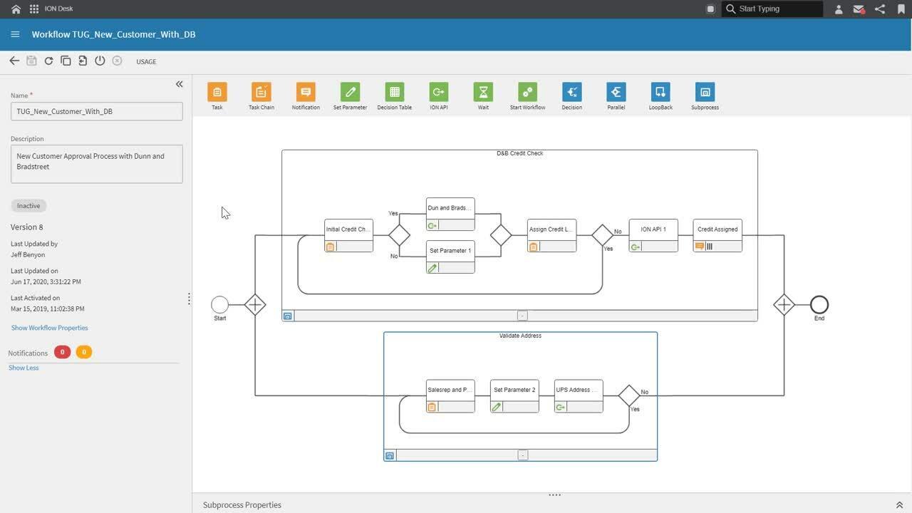 Infor Distribution SXe  - Business Process Controls