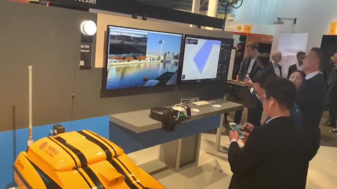 Remotely-controlled smart vessel