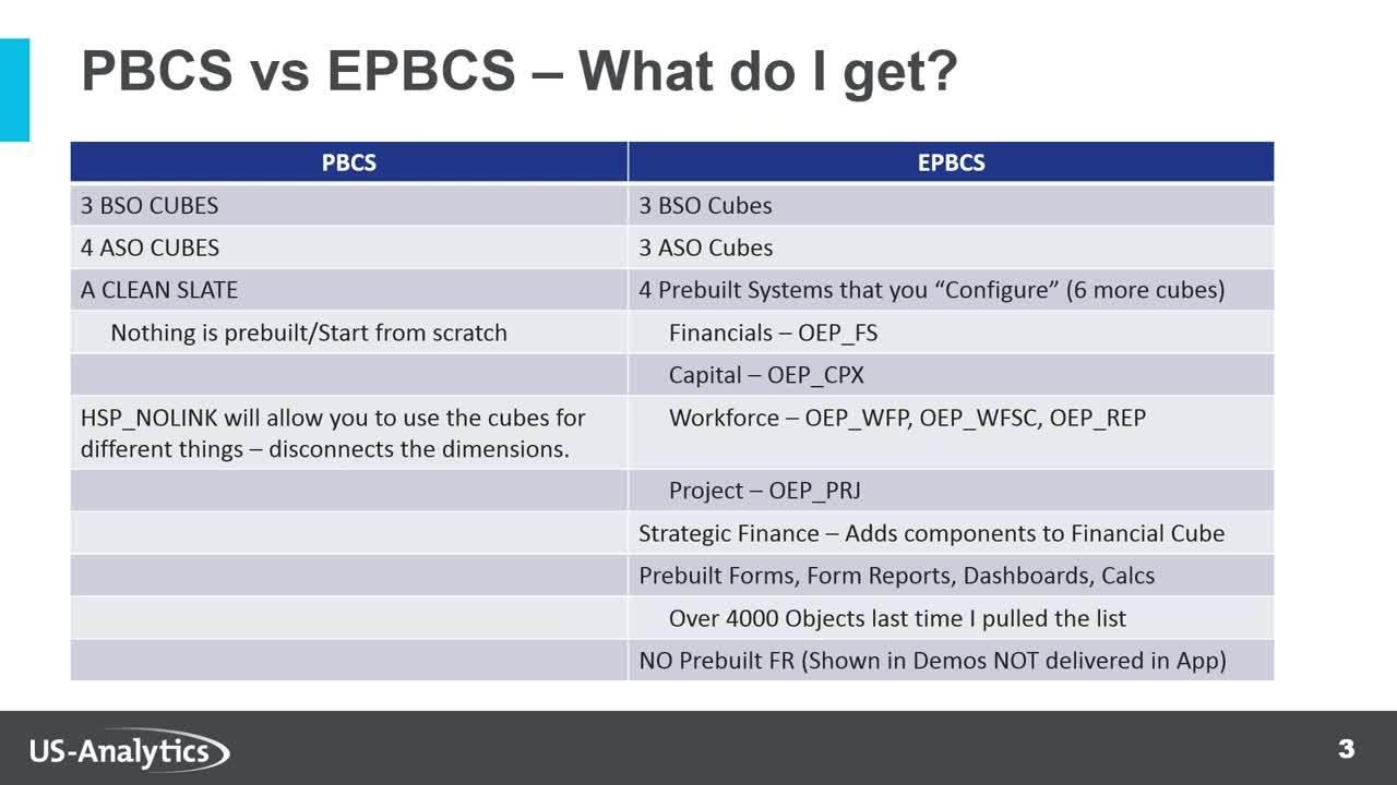 Planning_Video_PBCS vs EPBCS side by side comparison