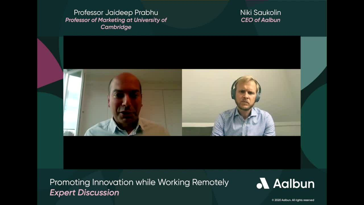 Promoting Innovation while Working Remotely Part 1 -1