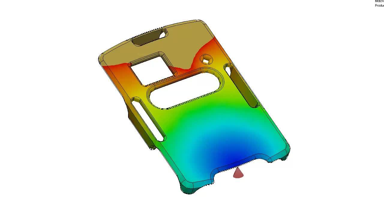Injection Mold Flow Solidworks Software Simulation