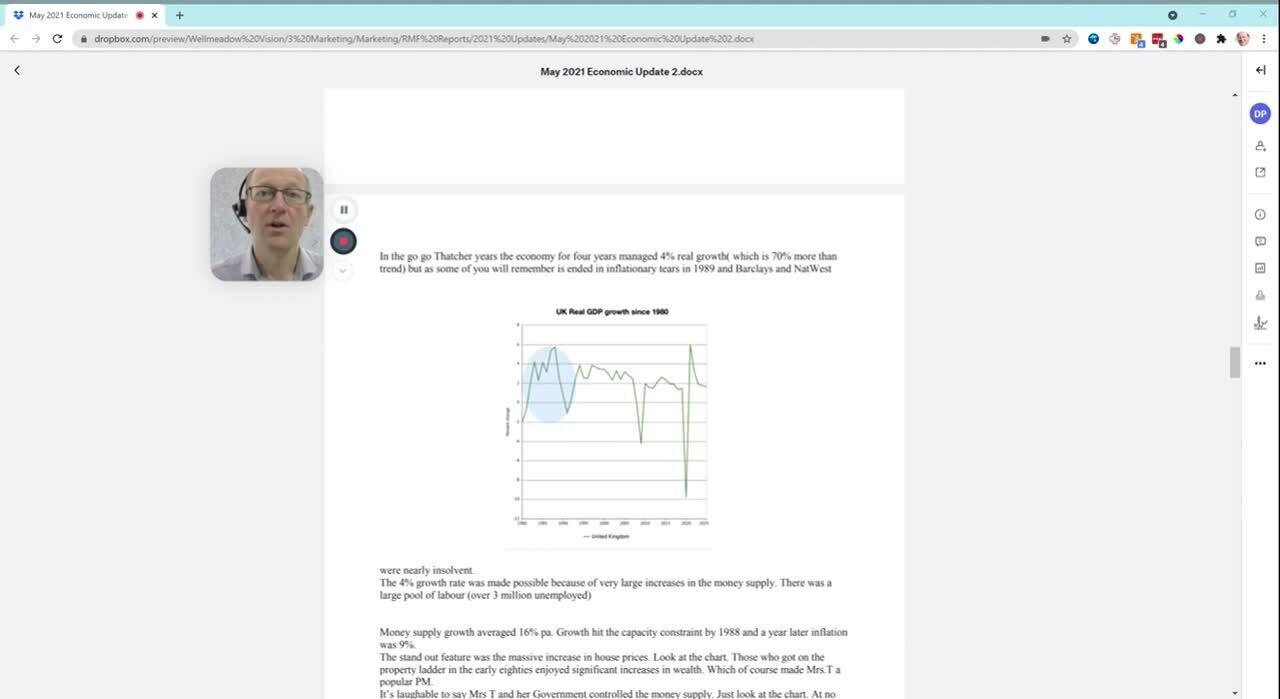 RMF May 21 Economic Forecast - Video Summary
