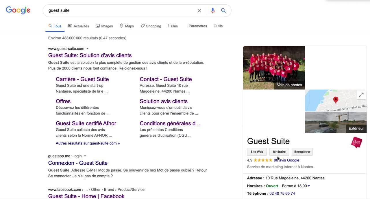 Tutoriel - Supprimer avis Google