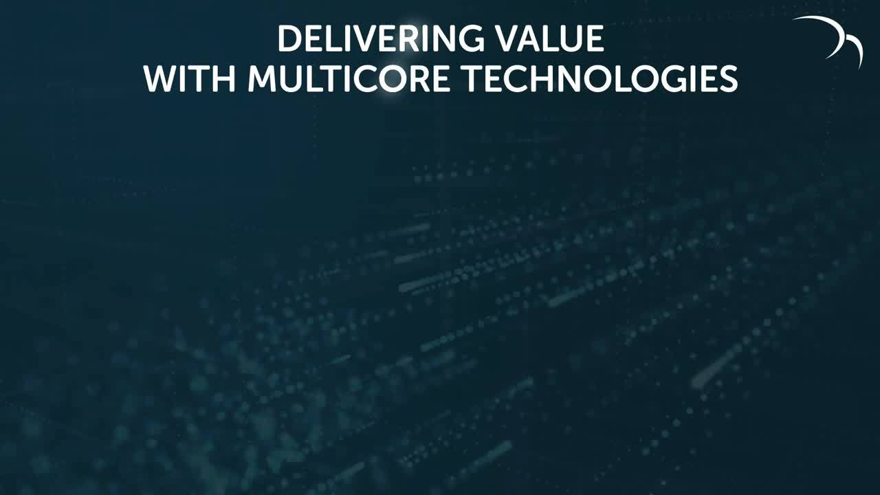 Multicore benefits