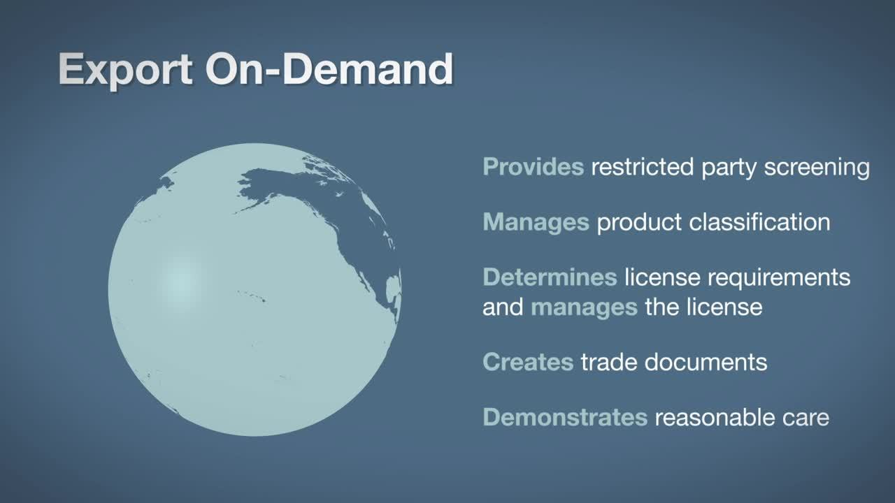 Trade Compliance On-Demand for Growing Companies